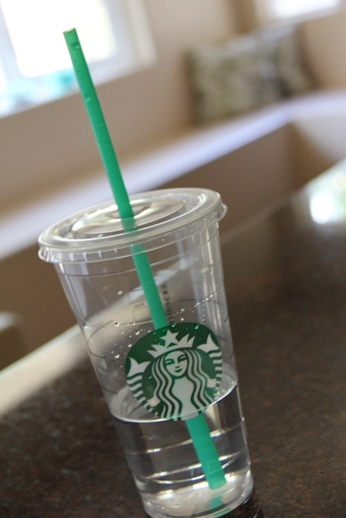 Starbucks Water